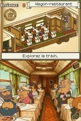 Professor Layton e lo Scrigno di Pandora: treno