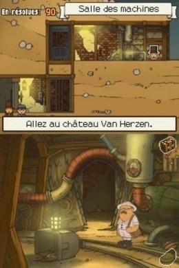 Professor Layton e lo Scrigno di Pandora: miniera