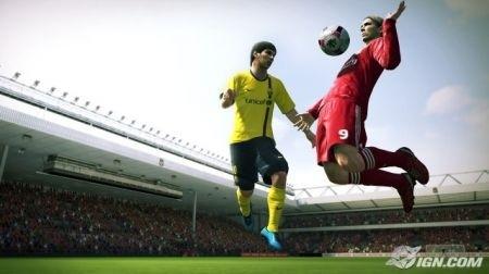 Pro Evolution Soccer 2010: salto