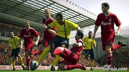 Pro Evolution Soccer 2010: azione