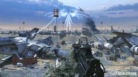 Call of Duty: Modern Warfare 2 - ambiente