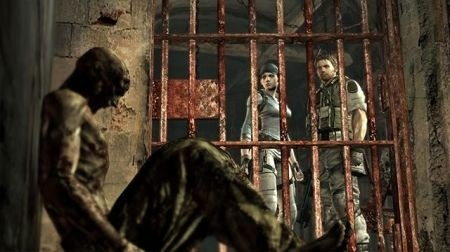 Resident Evil 5: Alternative Edition - prigione