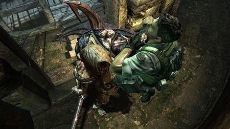Resident Evil 5: Alternative Edition - combattimento