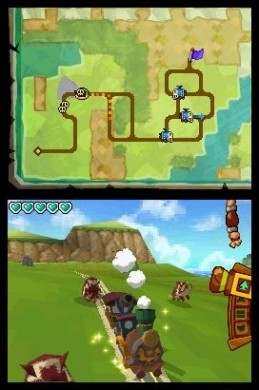 The Legend of Zelda: Spirit Tracks - treno