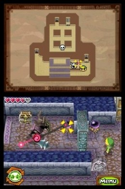 The Legend of Zelda: Spirit Tracks - muri