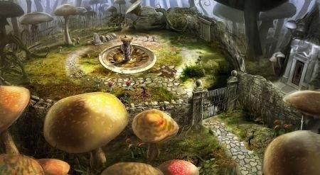 Alice in Wonderland: luoghi