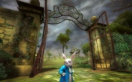Alice in Wonderland: cancello