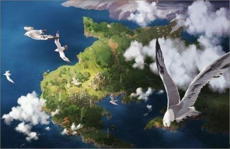 Ruli Island dall'alto