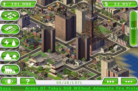 Sim City Deluxe iPhone