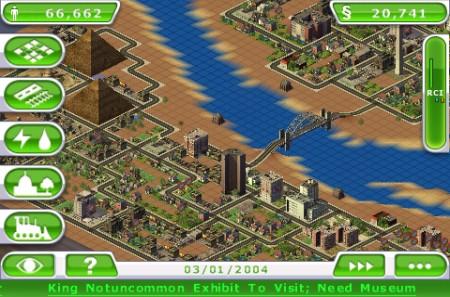 Sim City Deluxe: fiume