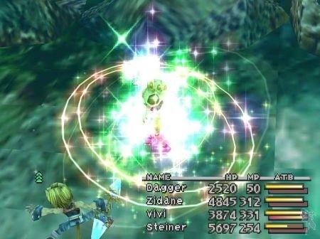 Final Fantasy IX battlescreen