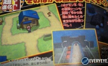 Pokemon White e Black: scan da CoroCoro