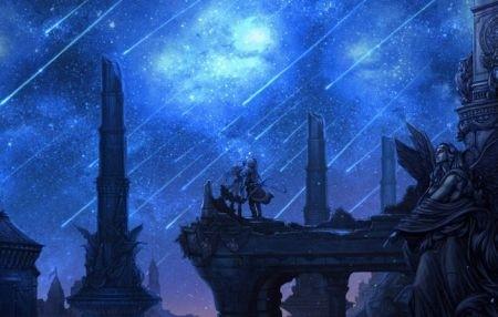Cascata di stelle