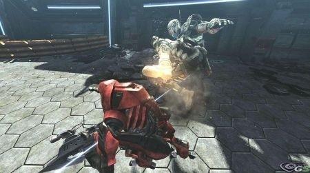Vanquish attacco al protagonista