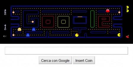 Pacman si gioca su Google!
