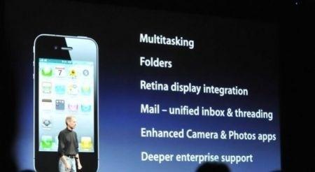 iPhone 4: dettagli