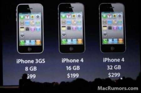 iPhone 4: prezzi