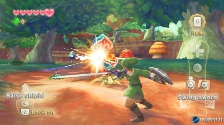 Zelda Skyward Sword spada