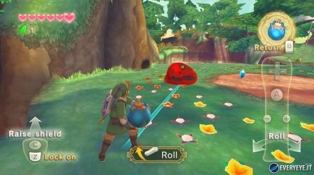 Zelda Skyward Sword bomba