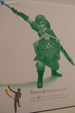Zelda Skyward Sword controls spada diagonale