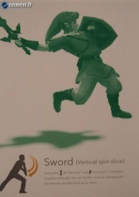 Zelda Skyward Sword controls attacco con salto