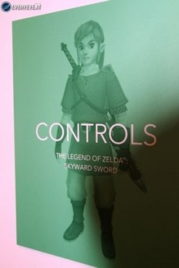 Zelda Skyward Sword controls