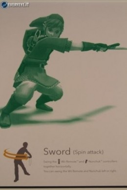 Zelda Skyward Sword controls laterale