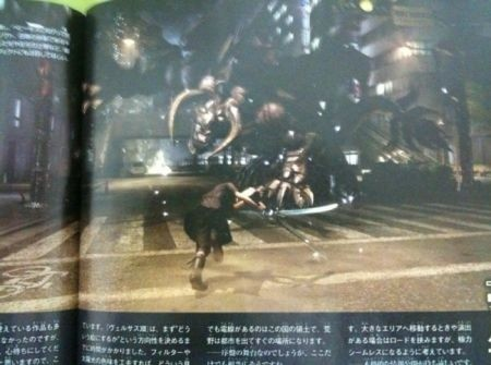 Final Fantasy Versus XIII combattimento Famitsu