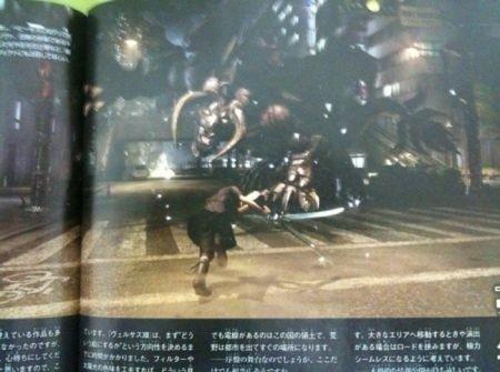 Final Fantasy Versus XIII combattimento Famitsu