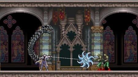 Castlevania Harmony of Despair attacco personaggio masc