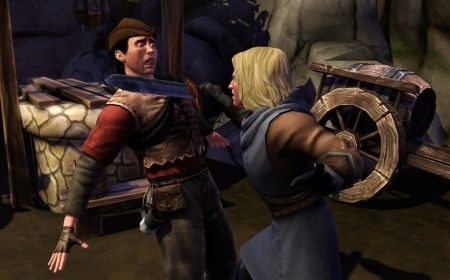 The Sims Medieval immagini spada