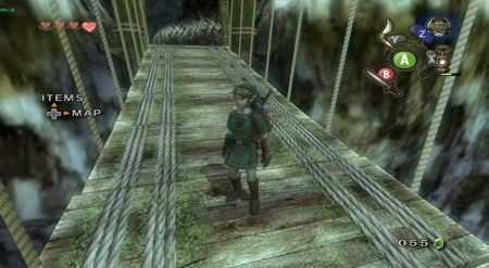 Zelda Twilight Princess ponte sospeso HD