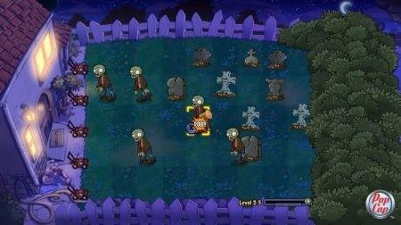 Plants vs Zombies Xbox Live: notte