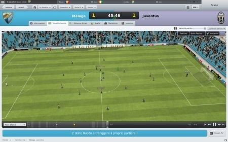 Football Manager 2011: calcio