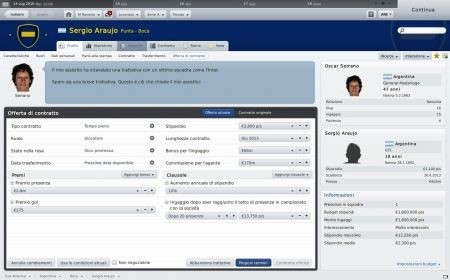 Football Manager 2011: calciatore