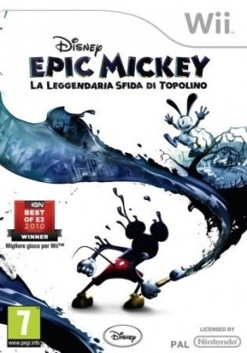 Epic Mickey: packshot