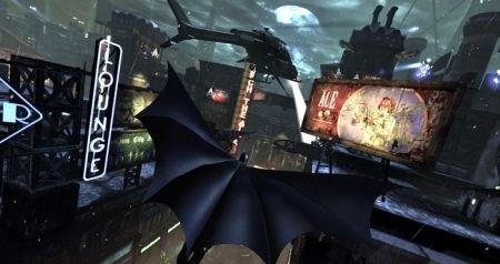 Batman Arkham City: volo