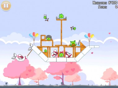 Angry Birds arriva in versione San Valentino