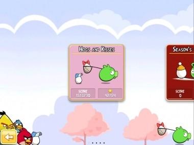 Angry Birds San Valentino: kisses