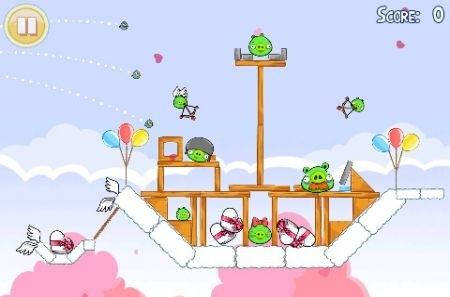 Angry Birds San Valentino: livelli