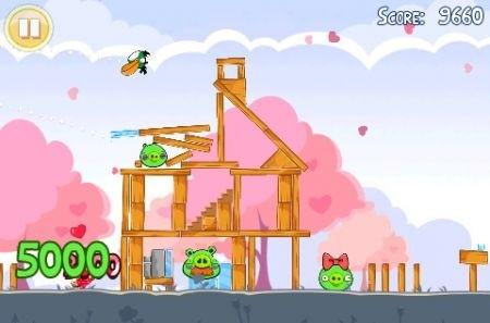 Angry Birds San Valentino: aggiornamento