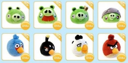 Angry Birds accessori: peluche