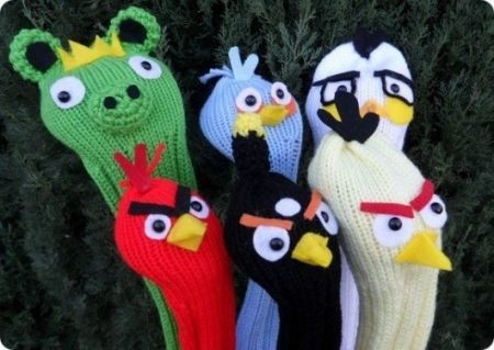 Angry Birds accessori: fodere mazze da golf