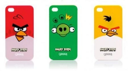 Angry Birds accessori: cover iPhone