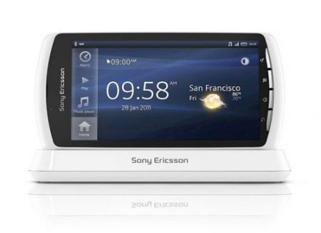 PlayStation Phone Xperia Play bianco: fronte