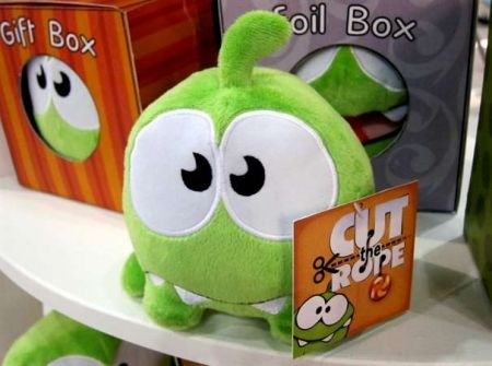 Cut the Rope: originali peluche in arrivo!