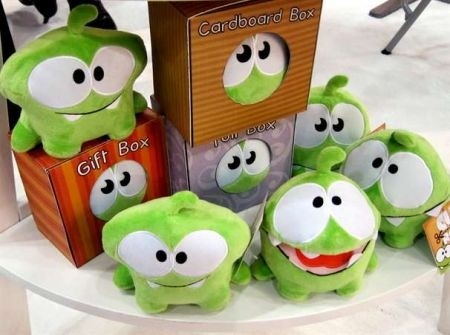 Cut the Rope peluche: giochi iPhone
