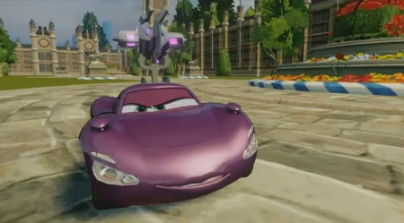 Cars 2 il videogioco: vettura