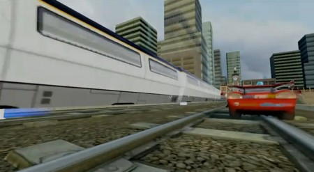 Cars 2 il videogioco: treno
