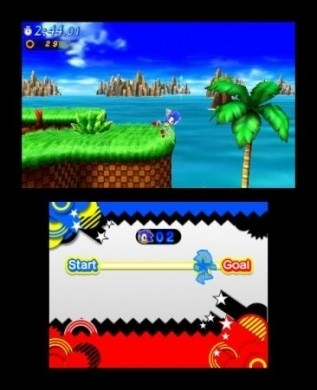 Sonic Generations anche in 3D su Nintendo 3DS